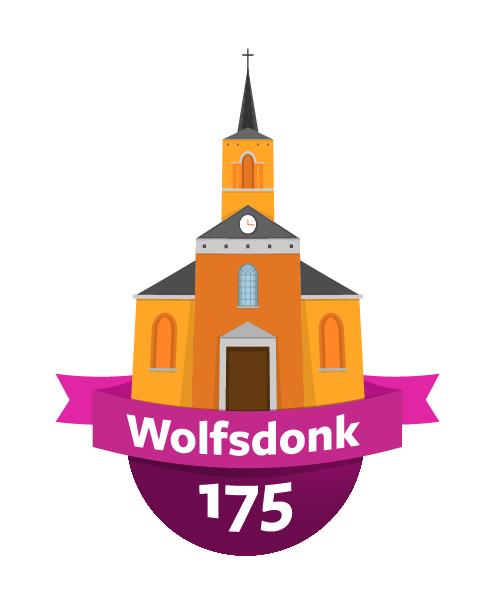 logo 175 jaar wolfsdonk