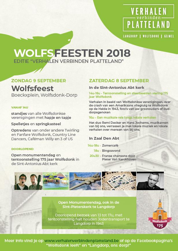 Wolfsfeesten 2018 affiche